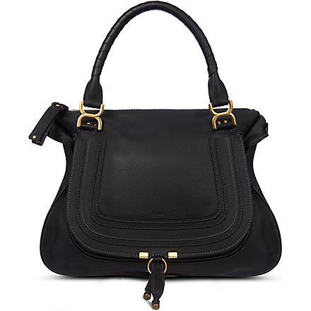 CHLOE Marcie satchel bag (Black