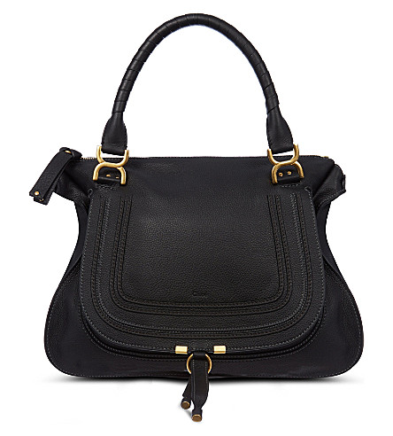 CHLOE Marcie satchel bag (Black