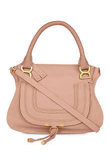 CHLOE Marcie medium leather satchel bag