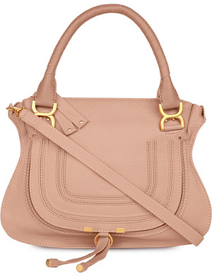 CHLOE Marcie medium leather satchel bag