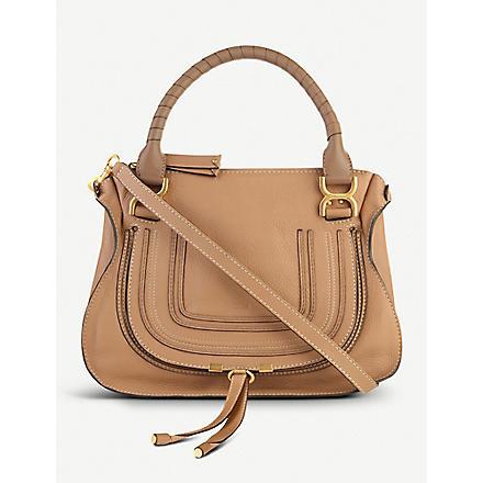 CHLOE Marcie medium shoulder bag (Nut