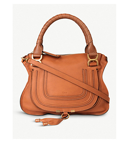 CHLOE Marcie medium shoulder bag (Tan