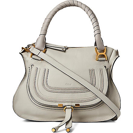 CHLOE Marcie small shoulder bag (Dove