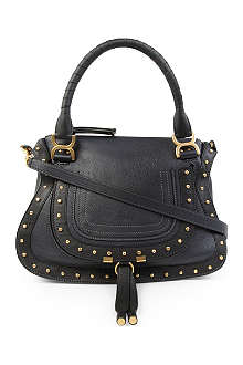 CHLOE Marcie medium studded leather tote
