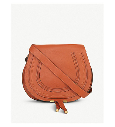 CHLOE Marcie leather satchel (Tan