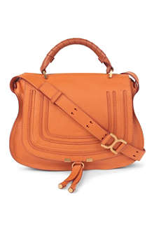 CHLOE Marcie leather satchel bag