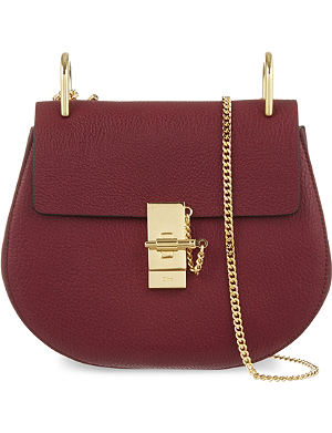 CHLOE Drew small leather cross-body bag