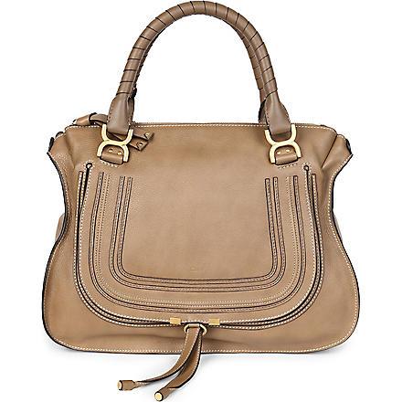 CHLOE Marcie large shoulder bag (Nut