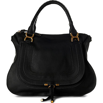 CHLOE Marcie large shoulder bag (Black