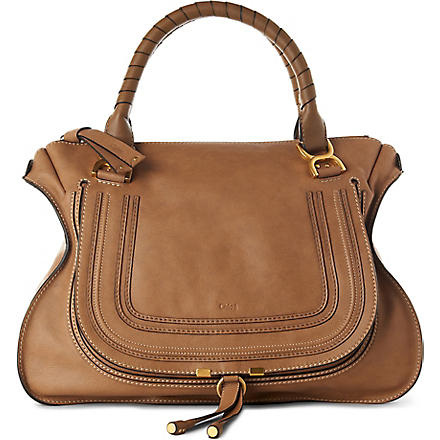 CHLOE Marcie large shoulder bag (Nut