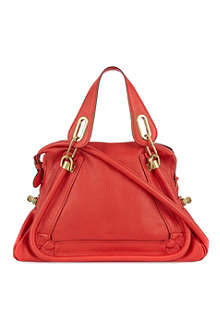 CHLOE Red calfskin bag