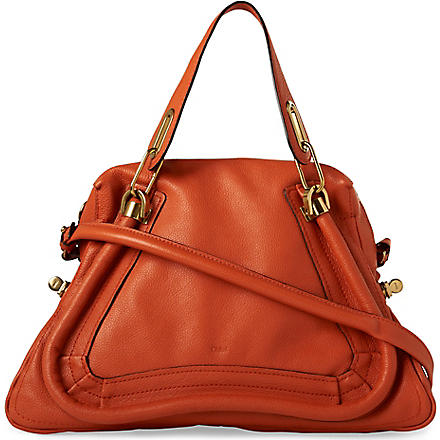 CHLOE Paraty medium shoulder bag (Paprika