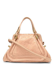 CHLOE Paraty medium python shoulder bag