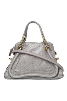 CHLOE Paraty python shoulder bag