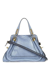 CHLOE Paraty medium python hobo bag