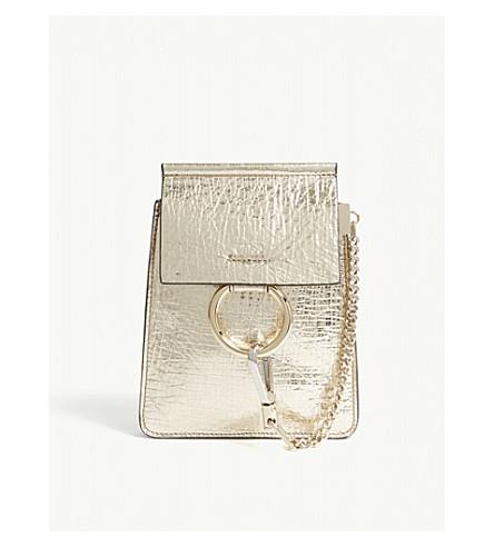 CHLOE Faye metallic bracelet bag (Gold