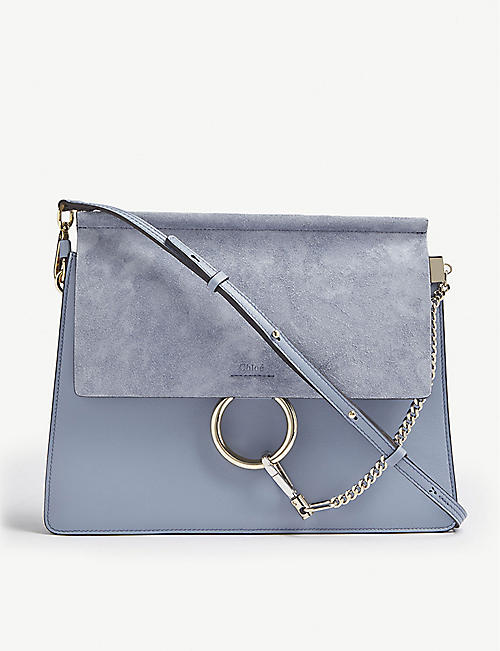 Shoulder Bag for Women, Midnight, Leather, 2017, one size Chloé