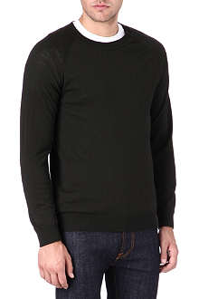 TIGER OF SWEDEN Terry raglan-sleeve jumper