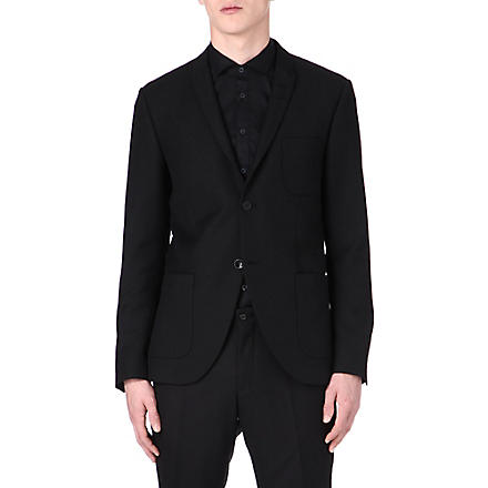 TIGER OF SWEDEN Evert wool-blend blazer (Black