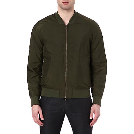 TIGER OF SWEDEN Chaos bomber jacket (Green