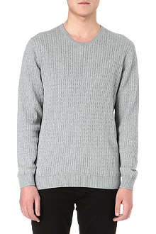 TIGER OF SWEDEN Laurence cable-knit jumper