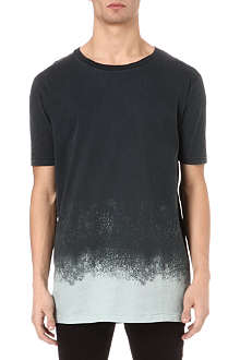 TIGER OF SWEDEN JEANS Dip Spray contrast t-shirt