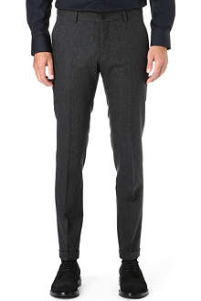 TIGER OF SWEDEN Herris slim-fit turn-up trousers
