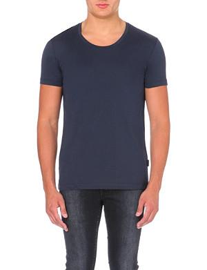 TIGER OF SWEDEN Scoop-neck cotton-jersey t-shirt