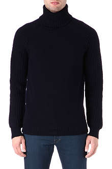 TIGER OF SWEDEN Waffle knit roll-neck jumper