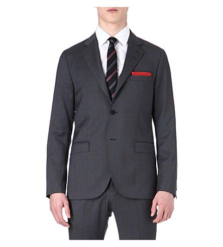 TIGER OF SWEDEN Morello wool jacket (Grey/blue