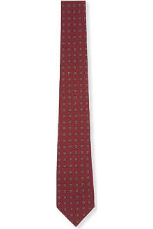 TIGER OF SWEDEN Geometric pattern tie