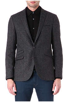 TIGER OF SWEDEN Nedvin single-breasted tweed blazer