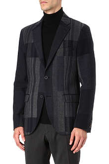 TIGER OF SWEDEN Large lapel wool coat