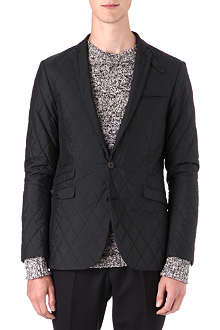 TIGER OF SWEDEN Single-breasted quilted blazer