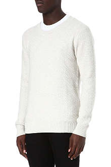 TIGER OF SWEDEN Terry textured jumper