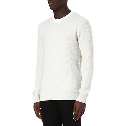 TIGER OF SWEDEN Terry textured jumper (Beige