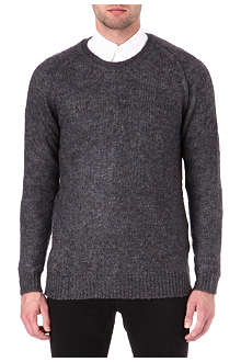 TIGER OF SWEDEN Gere marl flecked jumper
