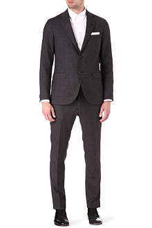 TIGER OF SWEDEN Morello single-breasted flecked suit