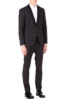 TIGER OF SWEDEN Troy shawl collar single-breasted tuxedo