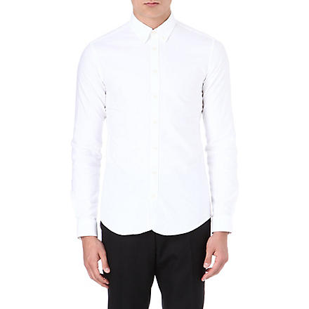 TIGER OF SWEDEN Richie Oxford slim-fit shirt (White