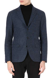 TIGER OF SWEDEN Kash three-button tweed blazer