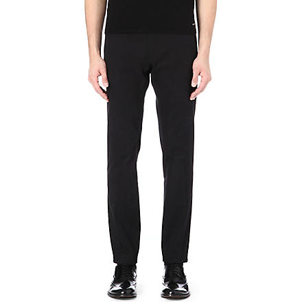 TIGER OF SWEDEN Liston twill slim trousers (Black