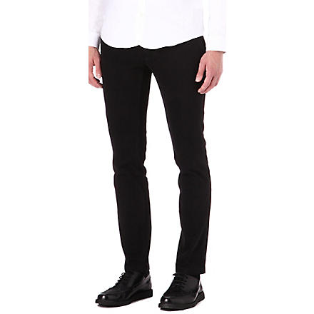 TIGER OF SWEDEN Rodman slim-fit chinos (Black