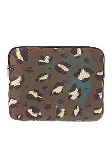 TIGER OF SWEDEN Maloney leopard print iPad case