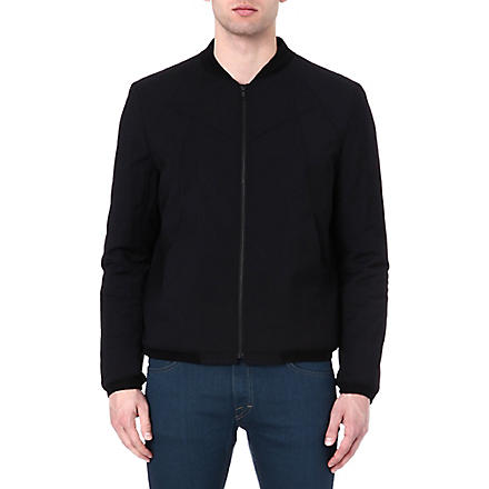 TIGER OF SWEDEN Chips bomber jacket (Black