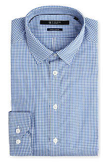 TIGER OF SWEDEN Denzel gingham shirt