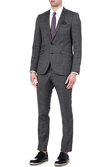 TIGER OF SWEDEN Nedvin checked suit