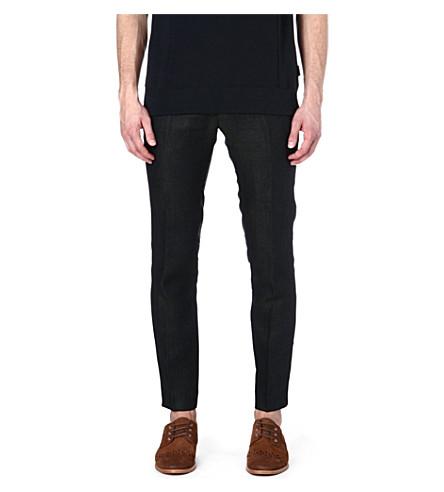 TIGER OF SWEDEN Stellan slim-fit trousers (Green