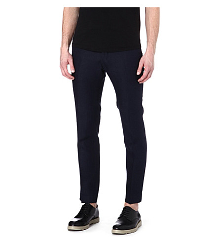 TIGER OF SWEDEN Stellan slim-fit trousers (Navy