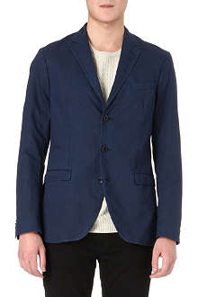 TIGER OF SWEDEN Kash notch-lapel cotton-blend blazer